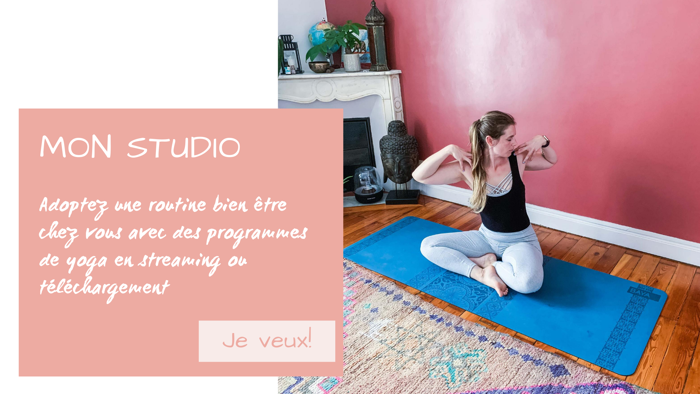 Studio yoga en ligne programmes de Yoga Delphine Marie Yoga